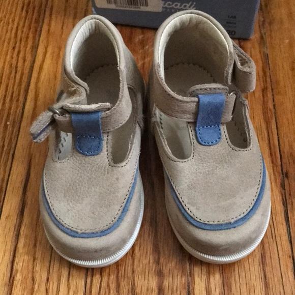 Jacadi Other - Jacadi boys t-strap leather shoes